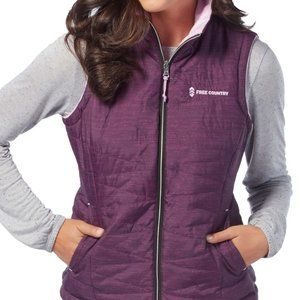 Free Country Reversible Vest NWT